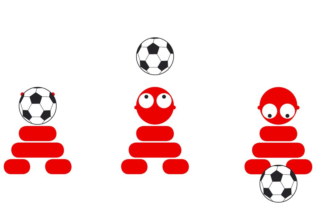 Panáček Amigotchi - fotbal