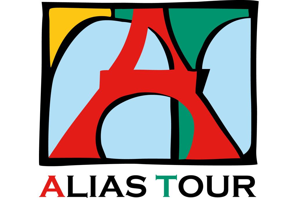 Logo Alias Tour - základní s textem