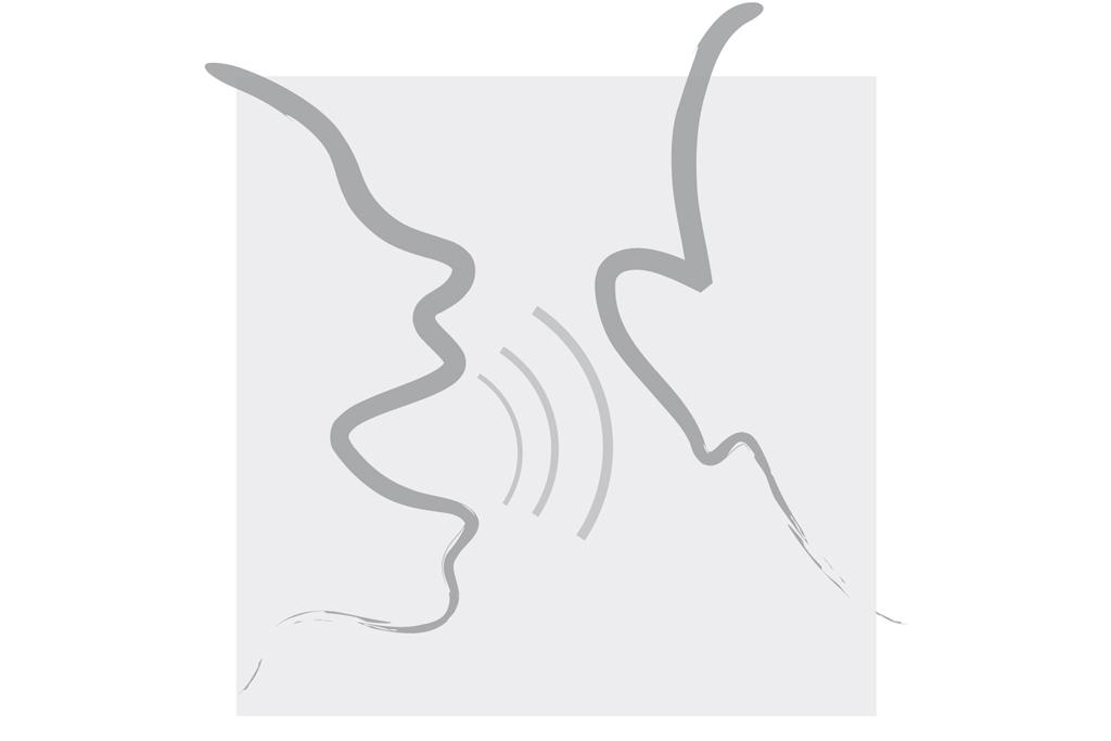 Logo - Kurzy mluvy (šedé)